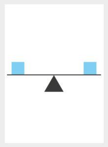 balance principle of design